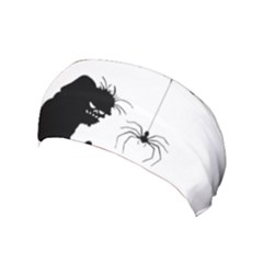 Halloween Yoga Headband by Valentinaart