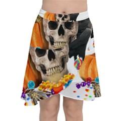 Halloween Candy Keeper Chiffon Wrap by Valentinaart