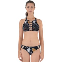 Spiritual Goat Perfectly Cut Out Bikini Set by Valentinaart