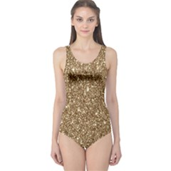 New Sparkling Glitter Print H One Piece Swimsuit by MoreColorsinLife