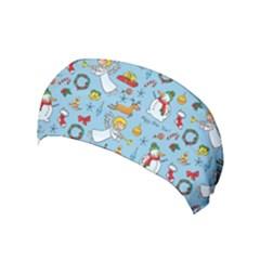 Christmas Pattern Yoga Headband by Valentinaart