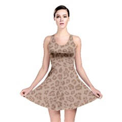 Autumn Animal Print 9 Reversible Skater Dress by tarastyle
