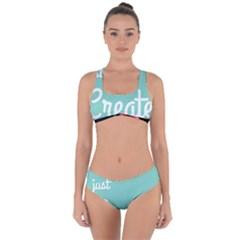 Bloem Logomakr 9f5bze Criss Cross Bikini Set by createinc