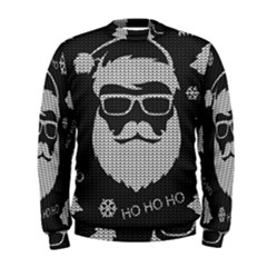 Ugly Christmas Sweater Men s Sweatshirt by Valentinaart