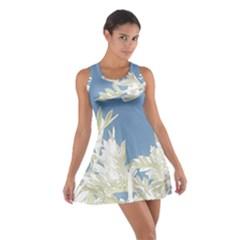 Nature Pattern Cotton Racerback Dress by dflcprintsclothing