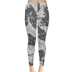 Stone Dragon Camouflage Leggings  by RespawnLARPer