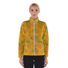 Fruit Pineapple Yellow Green Winterwear by Alisyart
