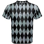 DIAMOND1 BLACK MARBLE & ICE CRYSTALS Men s Cotton Tee