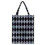 DIAMOND1 BLACK MARBLE & ICE CRYSTALS Classic Tote Bag