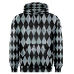 DIAMOND1 BLACK MARBLE & ICE CRYSTALS Men s Pullover Hoodie