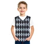DIAMOND1 BLACK MARBLE & ICE CRYSTALS Kids  SportsWear
