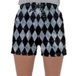 DIAMOND1 BLACK MARBLE & ICE CRYSTALS Sleepwear Shorts