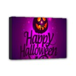 Happy Ghost Halloween Mini Canvas 7  x 5