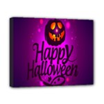 Happy Ghost Halloween Canvas 10  x 8