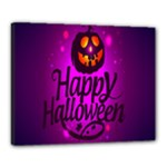 Happy Ghost Halloween Canvas 20  x 16