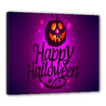 Happy Ghost Halloween Canvas 24  x 20