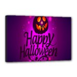 Happy Ghost Halloween Canvas 18  x 12