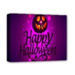 Happy Ghost Halloween Deluxe Canvas 14  x 11