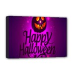 Happy Ghost Halloween Deluxe Canvas 18  x 12