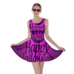 Happy Ghost Halloween Skater Dress