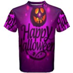 Happy Ghost Halloween Men s Cotton Tee
