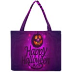Happy Ghost Halloween Mini Tote Bag