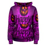 Happy Ghost Halloween Women s Pullover Hoodie