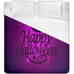 Happy Ghost Halloween Duvet Cover (King Size)