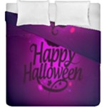 Happy Ghost Halloween Duvet Cover Double Side (King Size)