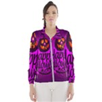 Happy Ghost Halloween Wind Breaker (Women)