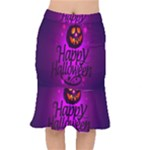 Happy Ghost Halloween Mermaid Skirt