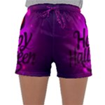 Happy Ghost Halloween Sleepwear Shorts