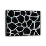SKIN1 BLACK MARBLE & ICE CRYSTALS Mini Canvas 7  x 5