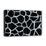 SKIN1 BLACK MARBLE & ICE CRYSTALS Deluxe Canvas 18  x 12