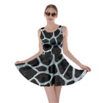 SKIN1 BLACK MARBLE & ICE CRYSTALS Skater Dress