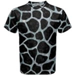 SKIN1 BLACK MARBLE & ICE CRYSTALS Men s Cotton Tee