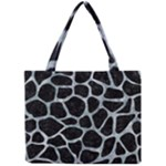 SKIN1 BLACK MARBLE & ICE CRYSTALS Mini Tote Bag