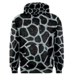 SKIN1 BLACK MARBLE & ICE CRYSTALS Men s Pullover Hoodie