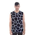 SKIN1 BLACK MARBLE & ICE CRYSTALS Men s Basketball Tank Top