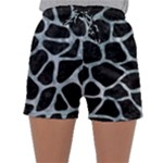 SKIN1 BLACK MARBLE & ICE CRYSTALS Sleepwear Shorts