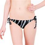 SKIN3 BLACK MARBLE & ICE CRYSTALS (R) Bikini Bottom