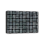 WOVEN1 BLACK MARBLE & ICE CRYSTALS (R) Mini Canvas 6  x 4