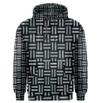 WOVEN1 BLACK MARBLE & ICE CRYSTALS (R) Men s Pullover Hoodie