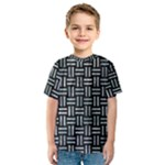 WOVEN1 BLACK MARBLE & ICE CRYSTALS (R) Kids  Sport Mesh Tee