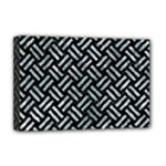 WOVEN2 BLACK MARBLE & ICE CRYSTALS (R) Deluxe Canvas 18  x 12