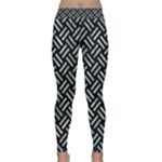 WOVEN2 BLACK MARBLE & ICE CRYSTALS (R) Classic Yoga Leggings