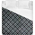 WOVEN2 BLACK MARBLE & ICE CRYSTALS (R) Duvet Cover (King Size)