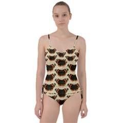 Butterfly Butterflies Insects Sweetheart Tankini Set