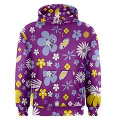 Floral Flowers Men s Pullover Hoodie