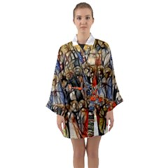 All Saints Christian Holy Faith Long Sleeve Kimono Robe